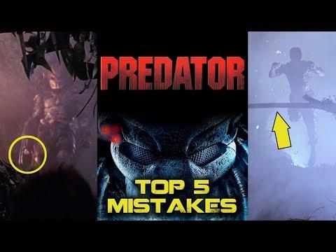 Predator (1987) - Top 5 Movie Mistakes - Arnold Schwarzenegger, John McTiernan
