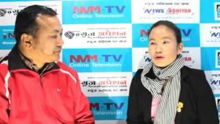 Susmita Tamang  at Sajha Vision Interview