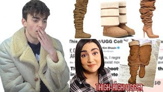 """Fashion Critic Reacts To Safiya Nygaard's """"I Wore Thigh-High Uggs For A Week"""""""