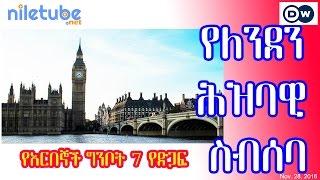 የለንደን ሕዝባዊ ስብሰባ - የአርበኞች ግንቦት 7 የድጋፍ አባላት - London meeting - Patriot Ginbot 7 - DW (Nov28, 2016)