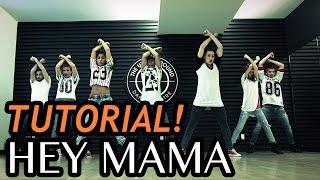 HEY MAMA - David Guetta ft Nicki Minaj Dance TUTORIAL | @MattSteffanina Choreography