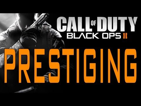 Black Ops 2 - How Prestiging Works (Call of Duty BO2 Level and Weapon Prestige Tips)