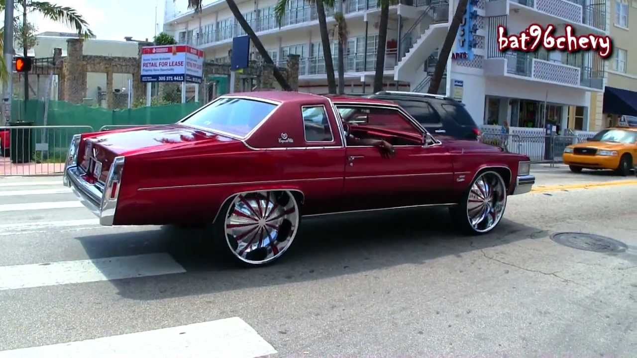 Candy Brandywine Cadillac Deville On 28 Quot Starrs Wheels
