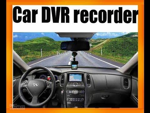 CAR DVR / Review - Instalación profesional / GearBest.com