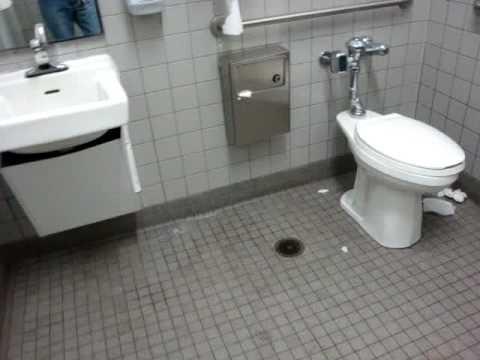 Gerber Toilet At Walmart Unisex Bathroom Youtube