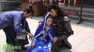 [BTS] Zhao Li Ying & William Chan - Fainting Cut