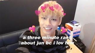 a three minute rant about jun bc i lov him