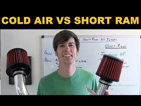 Cold Air Intake vs Short Ram Intake - Explained