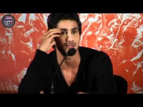 Prateik Babbar behaves DUMB!
