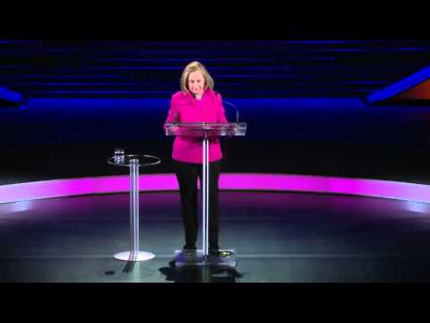 Hillary Rodham Clinton at the 2013 Women in the World Summit HD