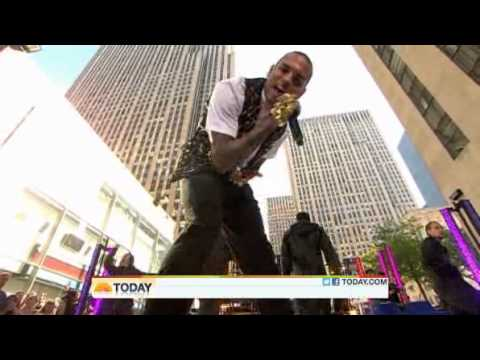 Chris Brown performs She Ain't You on The Today Show's Concert Series 2011 (HQ video)