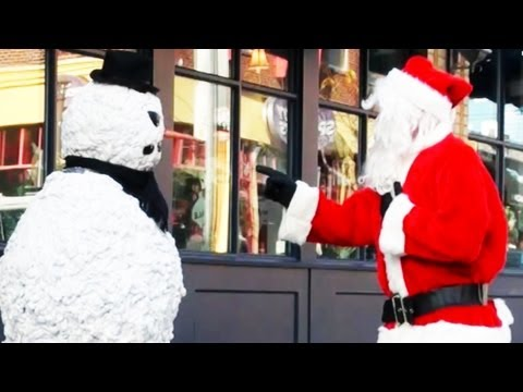 Funny - Christmas Prank scaring Santa Clause  - Season 2 Episode 3