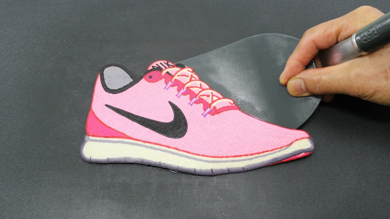 Barbie's Pink Nike Sneakers PANCAKE - Barbie Fashion