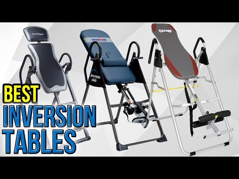10 Best Inversion Tables‎ 2017