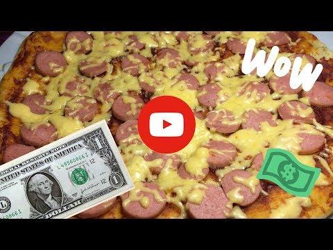 Пицца за 1 доллар 💵 |Пицца за 57 рублей