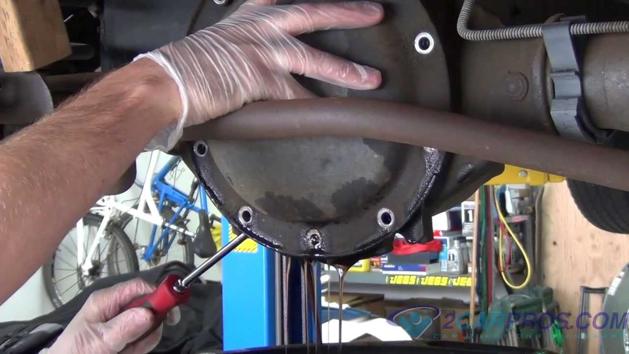 Axle Seal Replacement Gm Youtube