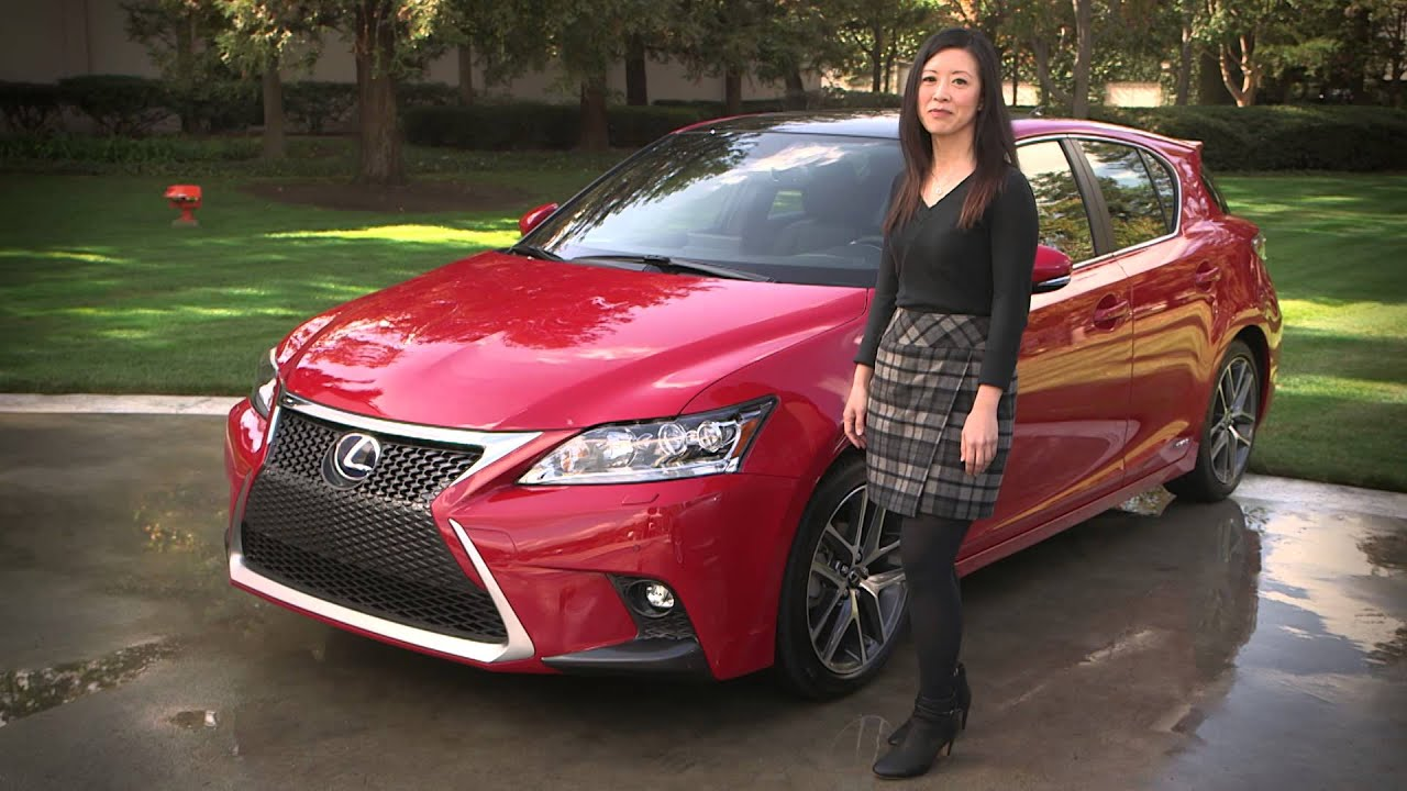 2014 lexus ct 200h inside and out youtube
