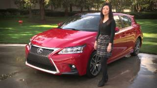2014 Lexus CT 200h -- Inside and Out