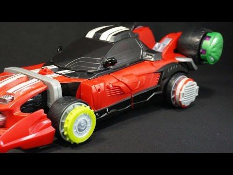 仮面ライダードライブ Tk02 タイヤセット ファースト Kamen Rider Drive Tk02 Tire Set First video