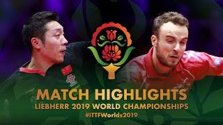 Simon Gauzy vs Xu Xin | 2019 World Championships Highlights (R32)