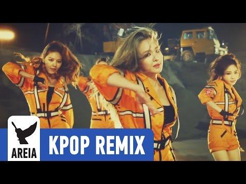 Girls' Generation - Catch Me If You Can (Korean Ver.) | Areia Kpop Remix #178