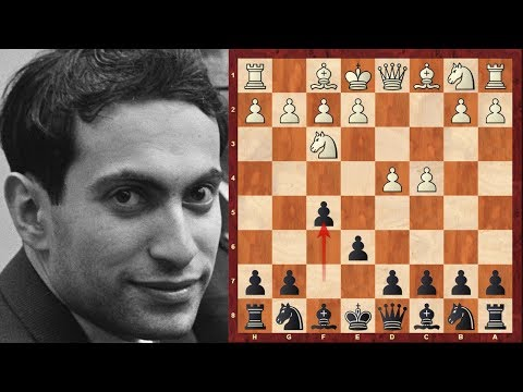0 - Chess Video | Chess World.net: Mikhail Tal with the Black pieces in the 24th Soviet Championship of 1957 - Chess & Mind Games