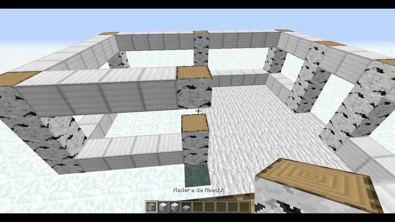 Como construir una casa lujosa en minecraft 1 youtube - Como construir tu casa ...