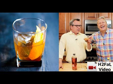 Killer-Good Cocktails | HOW TO MAKE AN OLD FASHIONED COCKTAIL | How To Feed a Loon