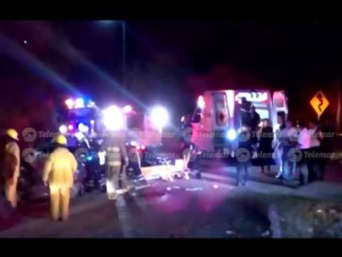 3 jóvenes pierden la vida tras fuerte accidente automovilístico