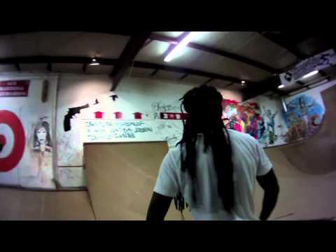 Lil Wayne's Secret Session at the TimeShip Skate School