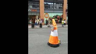 Roathy's Stag do.. the moment coney stopped the traffic on Broad Street 😂😂😂