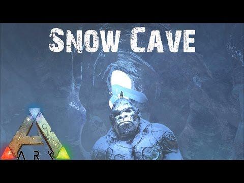 ARK Survival Evolved - Exploring the Snow Cave! E27