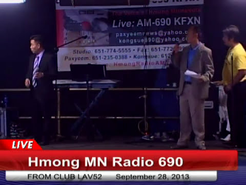 HMONG ENTERTAINMENT ON HMONG MN RADIO KFXN 690 AM AT CLUB LAV52
