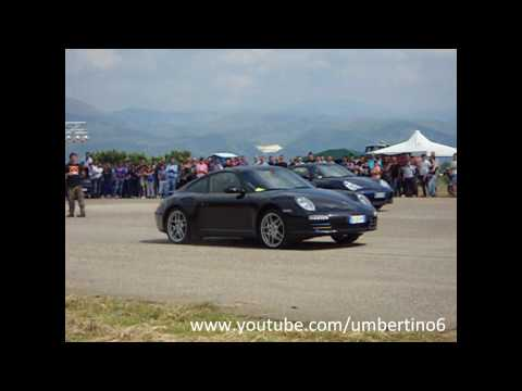 Porsche Battle -  997 Turbo Werks vs Carrera 4S Mk2 vs 996 Turbo