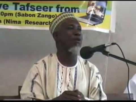 Sheihk Bashir Nyandu. Tafseer 2012 @ Zango Accra VOL 8
