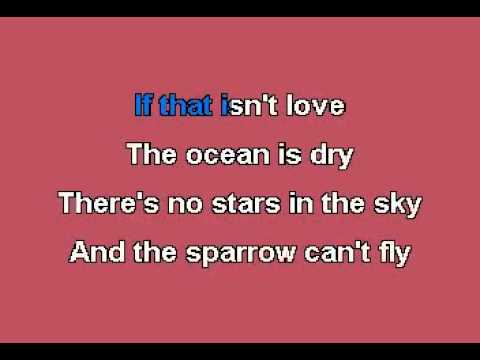 If That Isn't Love karaoke.avi_(360p)