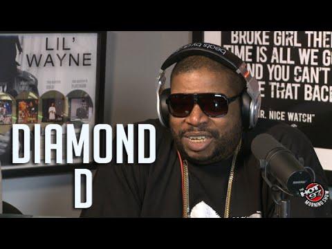 Diamond D Talks Hip Hop History With Ebro And Rosenberg!!