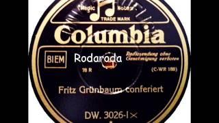 Fritz Grünbaum Conferiert   Fritz Grünbaum
