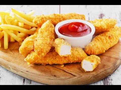 Куриное филе в кляре - Золотые пальчики рецепт - Chicken Fillet In Batter