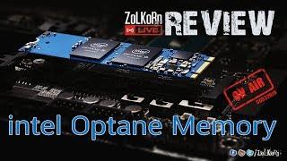 เปิดสด ทดสอบสด Intel Optane Memory  : ZoLKoRn on Live #112