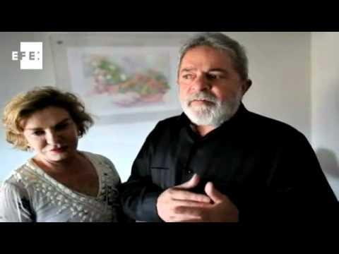 Em vídeo, Lula mostra otimismo na luta contra o câncer .