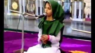MehfileMilad at Baldia Town  Naat by Special(Blind) girl Natasha.mp4