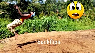 I can't believe I did this crazy BACKFLIPS 2019