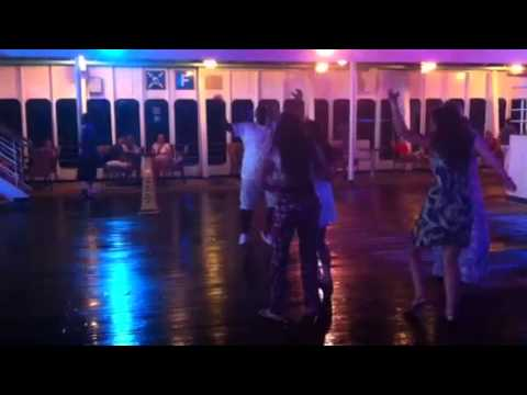 Marvin Williams dances at Mexican Fiesta!