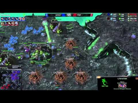 ZvP Impact vs First -g1- DeadWing 1080p Starcraft 2