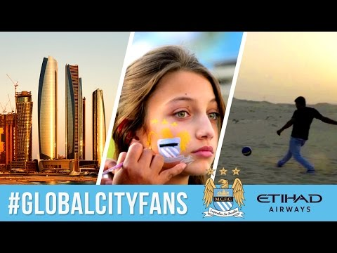 Blue moon over Abu Dhabi | Man City Superfans in the UAE | #GlobalCityFans