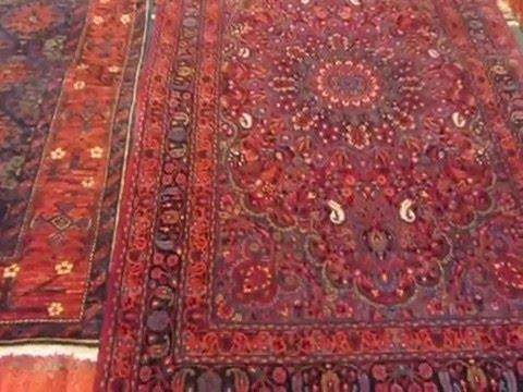 Afghan rugs from Paradise Oriental Rugs in Sebastopol, CA
