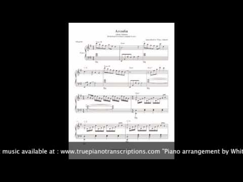Arcadia - Adrian Johnston (Brideshead Revisited) - piano sheet music