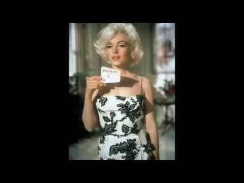 Marilyn Monroe - Somethings Got To Give, Black White Wiggle Dress Tests 1962
