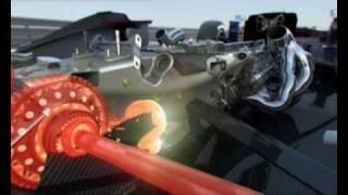 Formula 1 Racecar 2009 Changes 3D Animation